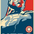 Captain America Falcon Hero