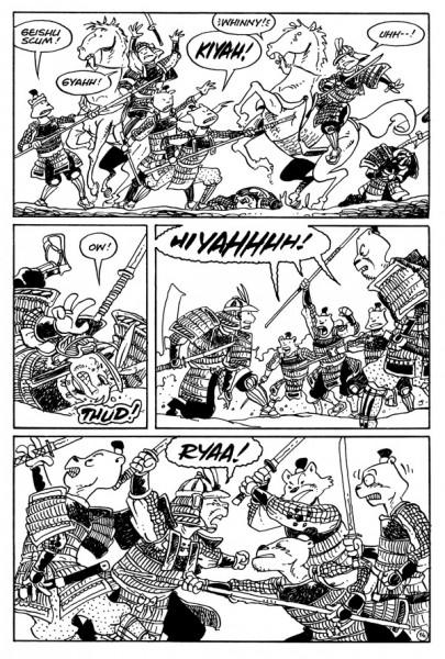 Usagi Yojimbo Senso #1 Page 4