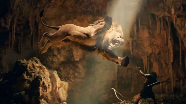 hercules vs lion