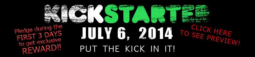 Under the Flesh Kickstarter Banner