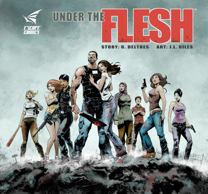 Under the Flesh Pin-Up