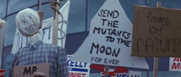 x-men anti mutant protest