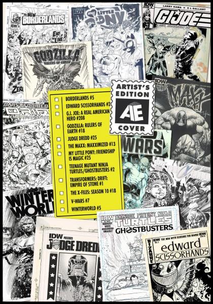 IDW artist's edition