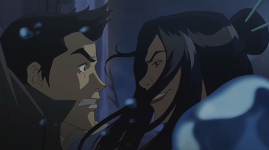 Legend of Korra The Stakeout