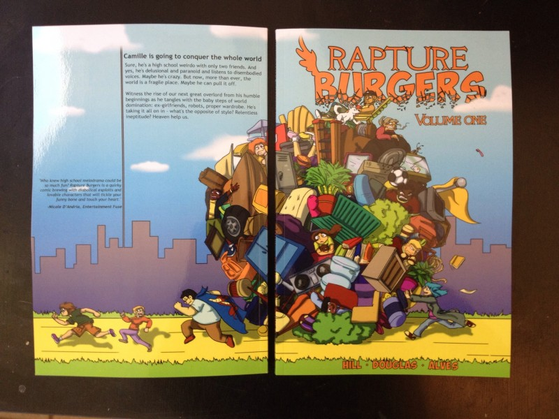 Rapture Burgers Volume 1 Full Cover
