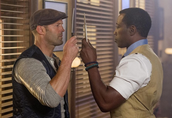 expendables 3 - statham vs snipes