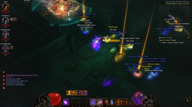 Diablo 3 loot drop