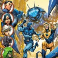 Blue Beetle Booster Gold Justice League 3000