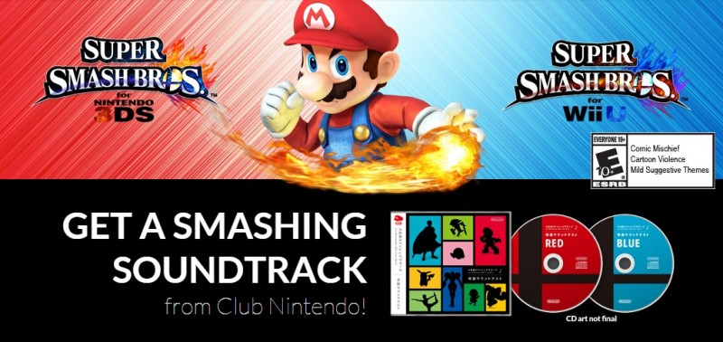 Nintendo-Super-Smash-Bros-Soundtrack-Offer
