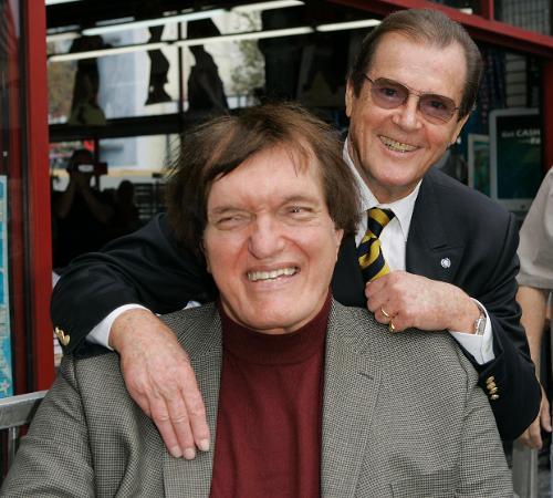 Richard Kiel adn Roger Moore