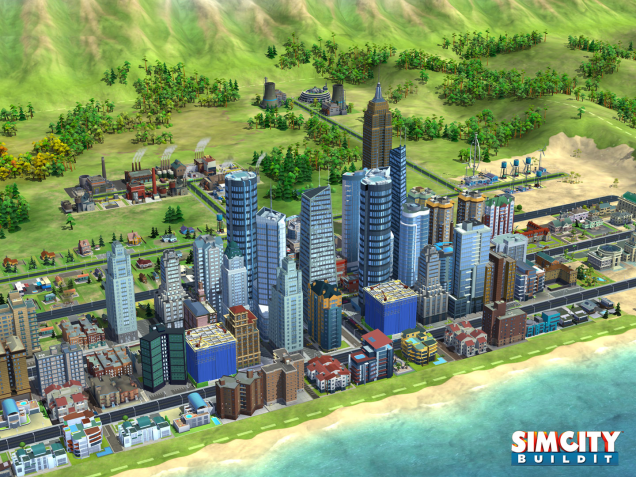 SimCity buildit screen day