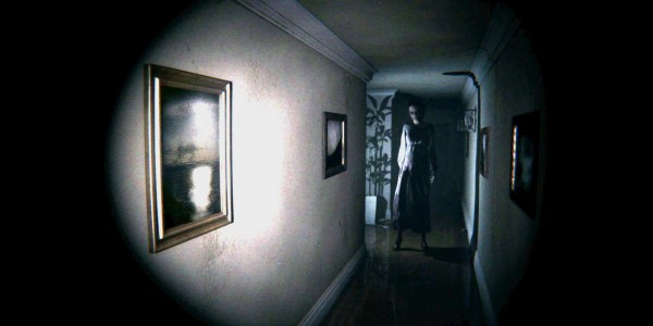 P.T. scary ghost