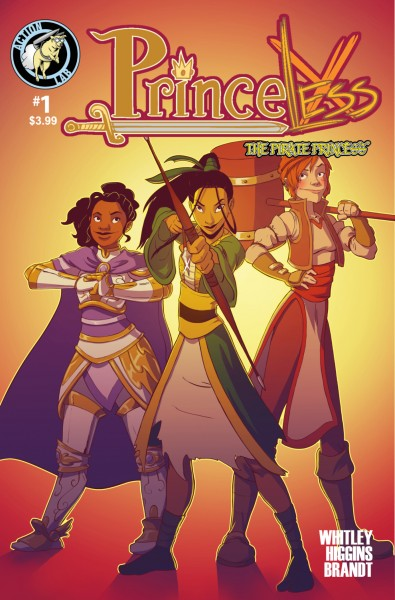 Princeless Volume 3 #1 Cover