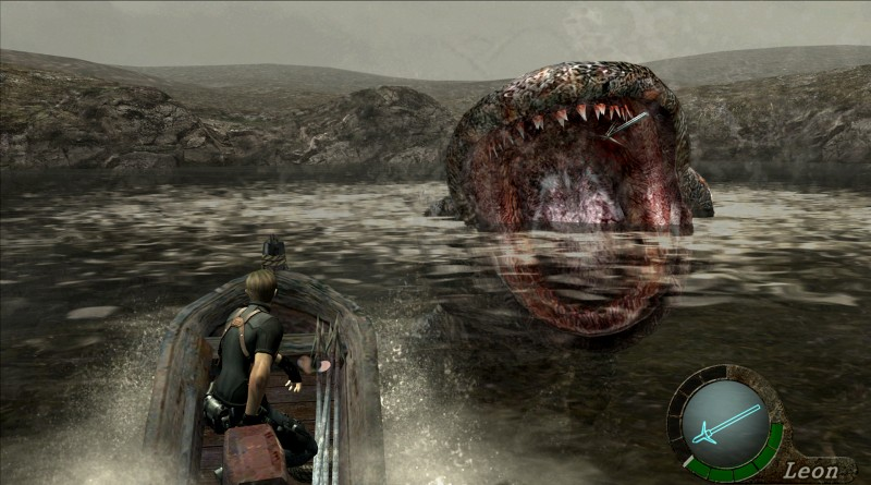 RE 4 del lago monster