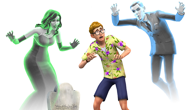 Sims 4 ghosts update