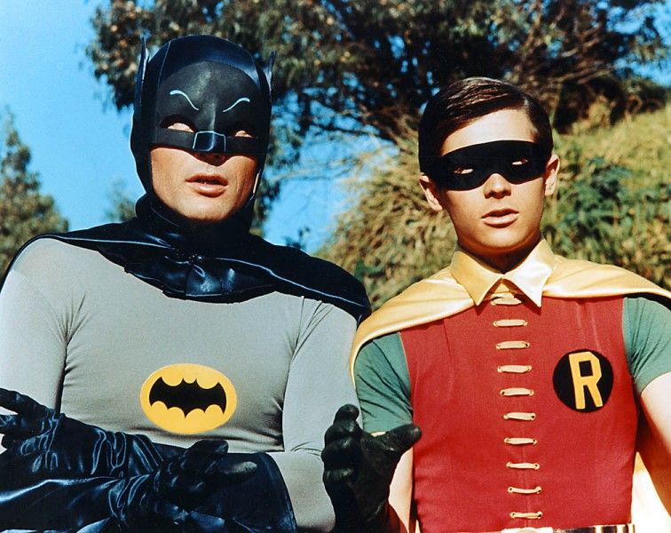 West and Ward - Batman and Robin