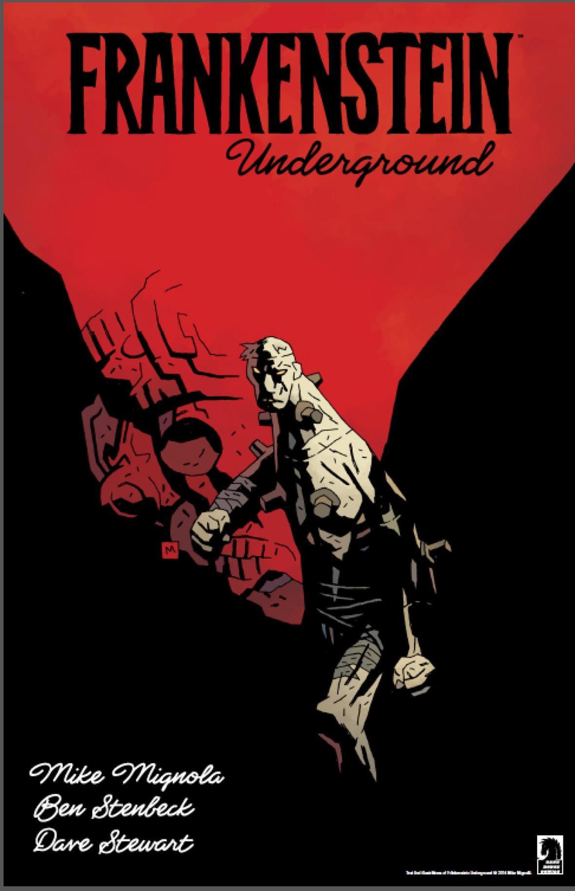 Frankenstein Underground cover