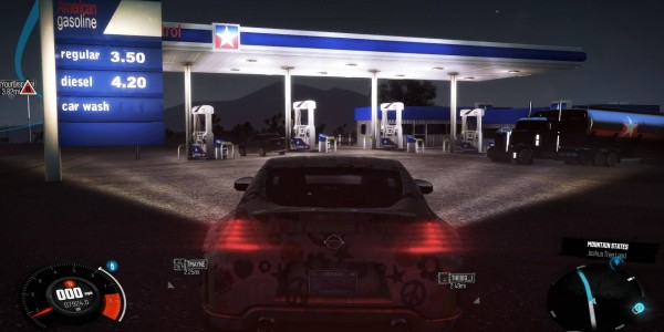 Gas Station leaving AZ