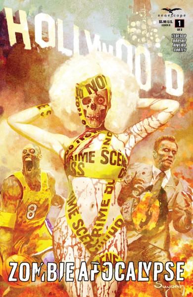 Hollywood Zombie Apocalypse #1 Cover B-1