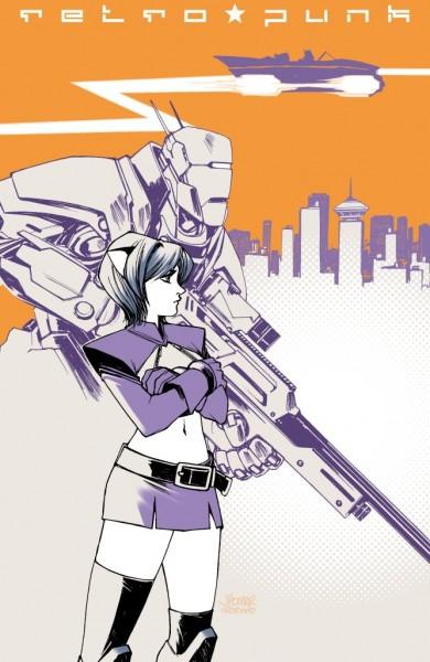 Retropunk Graphic Novel