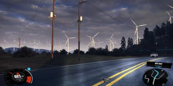 San Bernidino Windfarm