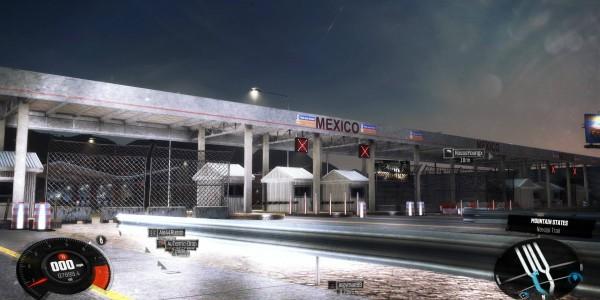 US MEXICO BORDER EL PASO