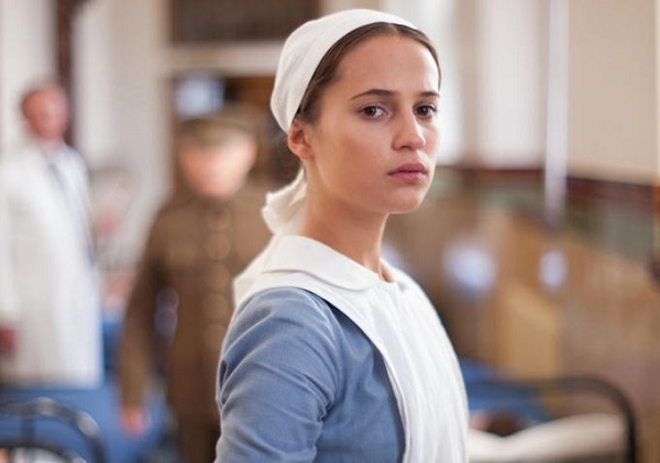 a testament of youth - alicia vikander as a nurse