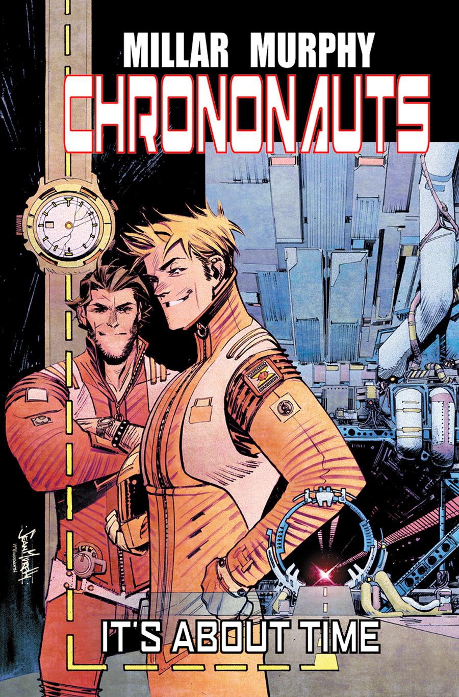 Chrononauts Promo Cover