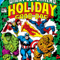 Marvel Giant Superhero Holiday Grab-Bag cover 1974