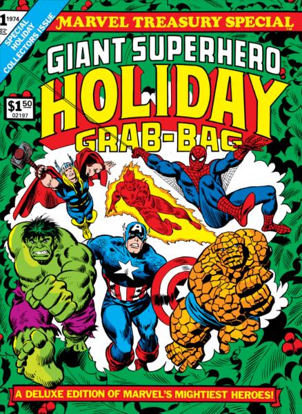 Marvel Giant Superhero Holiday Grab-Bag cover 1974