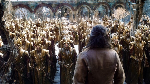 the hobbit battle of the five armies - elvish army