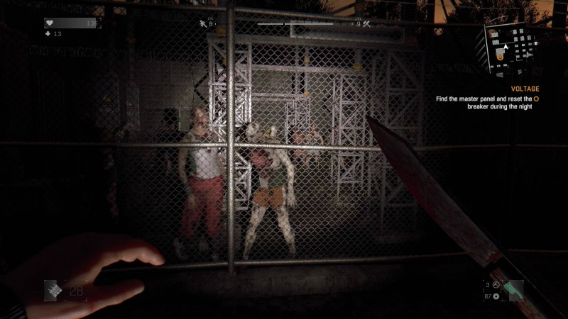 Dying Light night zombies