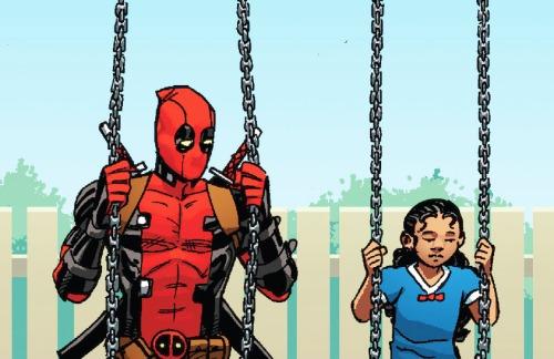 Deadpool and Ellie