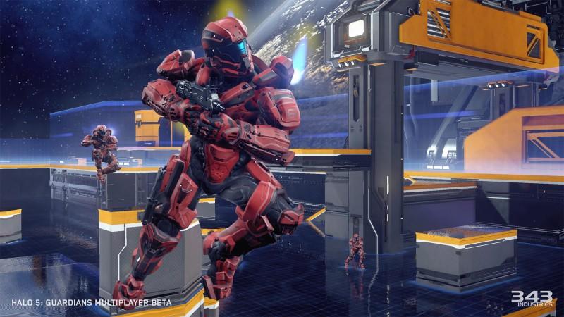 Halo 5 Beta Air Move