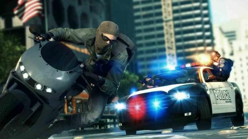 BF Hardline cop chase