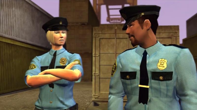 saints Row police
