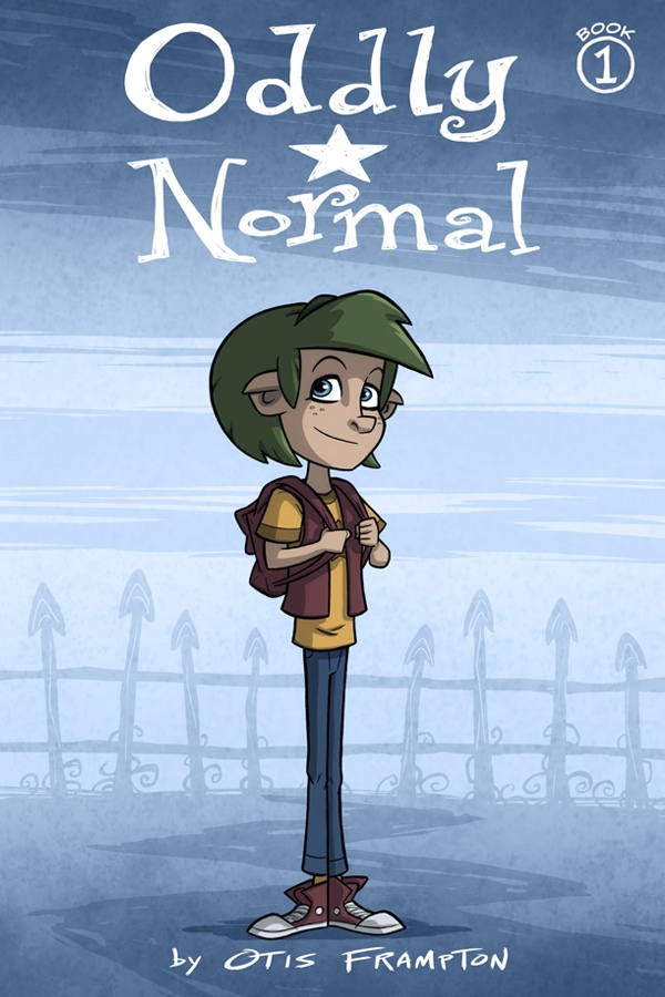 Oddly Normal cover 1