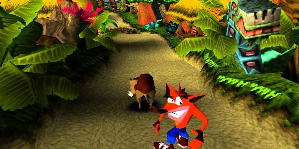 Crash Bandicoot wide