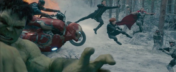 Avengers age of ultron - money shot