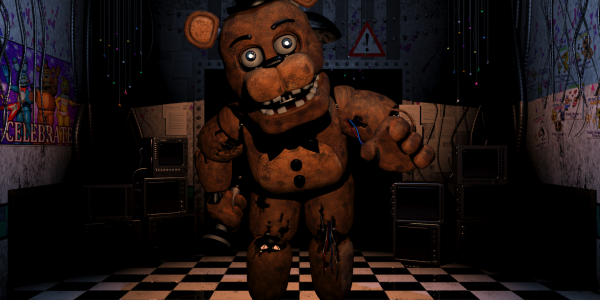 Five nights at freddy large bear