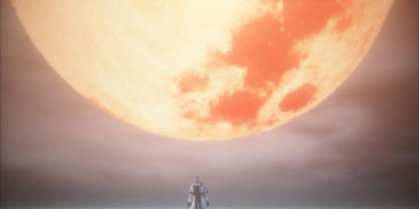 Red moon Bloodborne