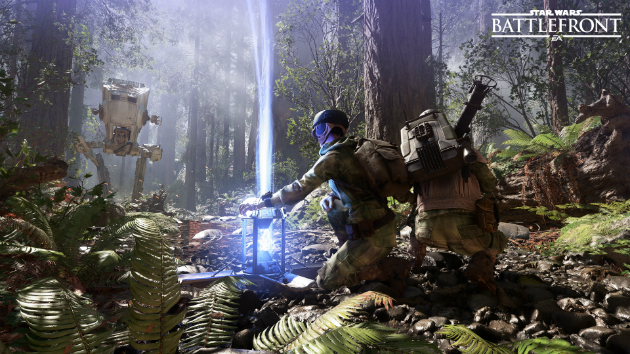Star Wars Battlefront Endor atst