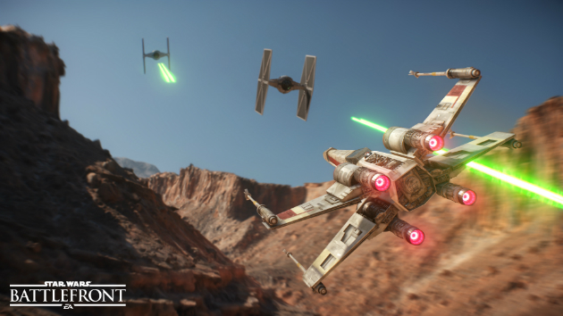 Xwing Tie Star Wars Battlefront