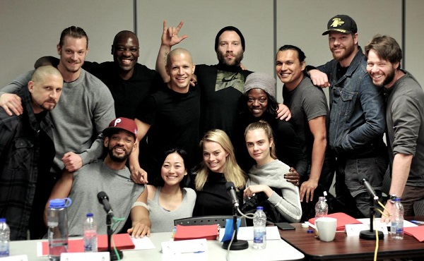 suicide squad first picture