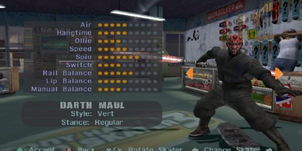 Darth Maul THPS3
