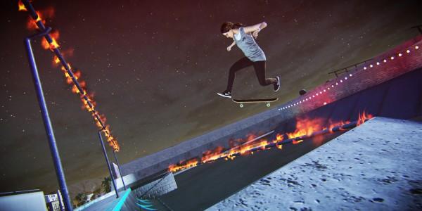 Tony Hawk Pro Skater 5 screen night