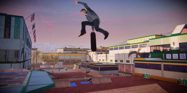 Tony Hawk Pro skater 5 screen