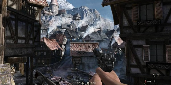 Wolfenstein Old Blood mountain village