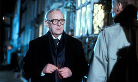 Alec Guinness in the 1979 TV adaptation of John le Carré's spy novel, Tinker Tailor Soldier Spy.