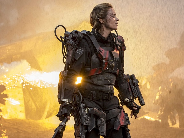 edge of tomorrow - rita vrataski